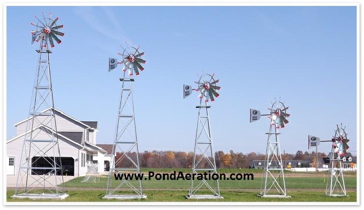 american eagle windmill - decorative windmills